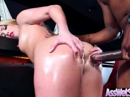 Hard anal intercourse with sexy big wet bum girl (aj applegate) mov-03