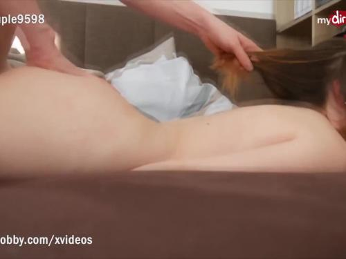 My dirty hobby - young amateur couple fuck in the bedroom