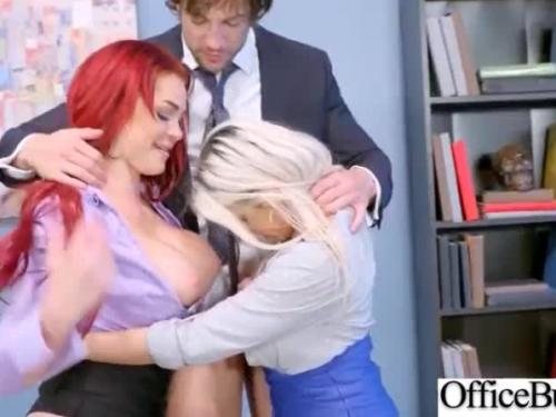 (rachel roxxx & skyla novea) hot office girl with big boobs love hard sex movie-27